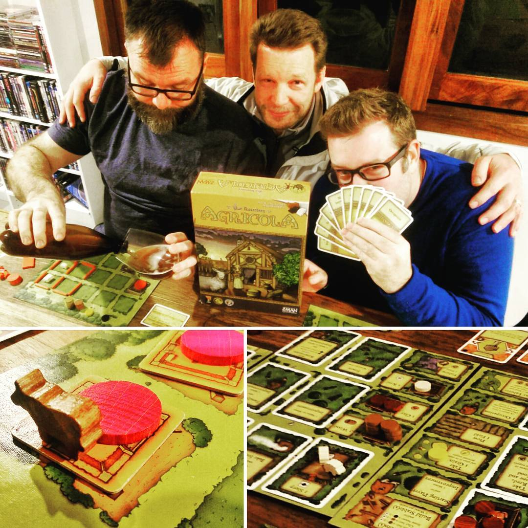 Agricola  its a classic and Garth had never playedhellip