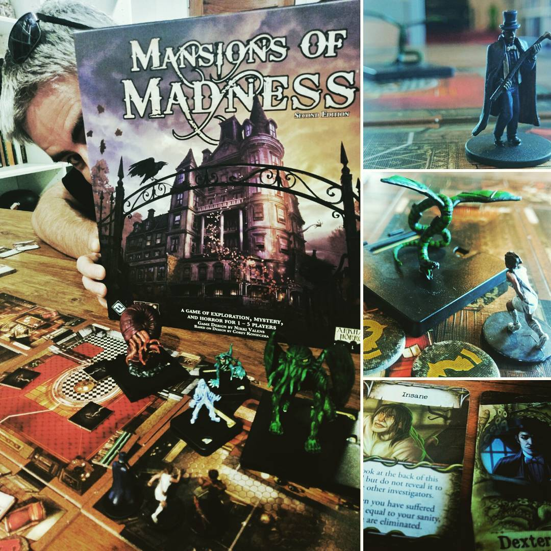 Fantasy Flight have got a winner with Mansions of Madnesshellip