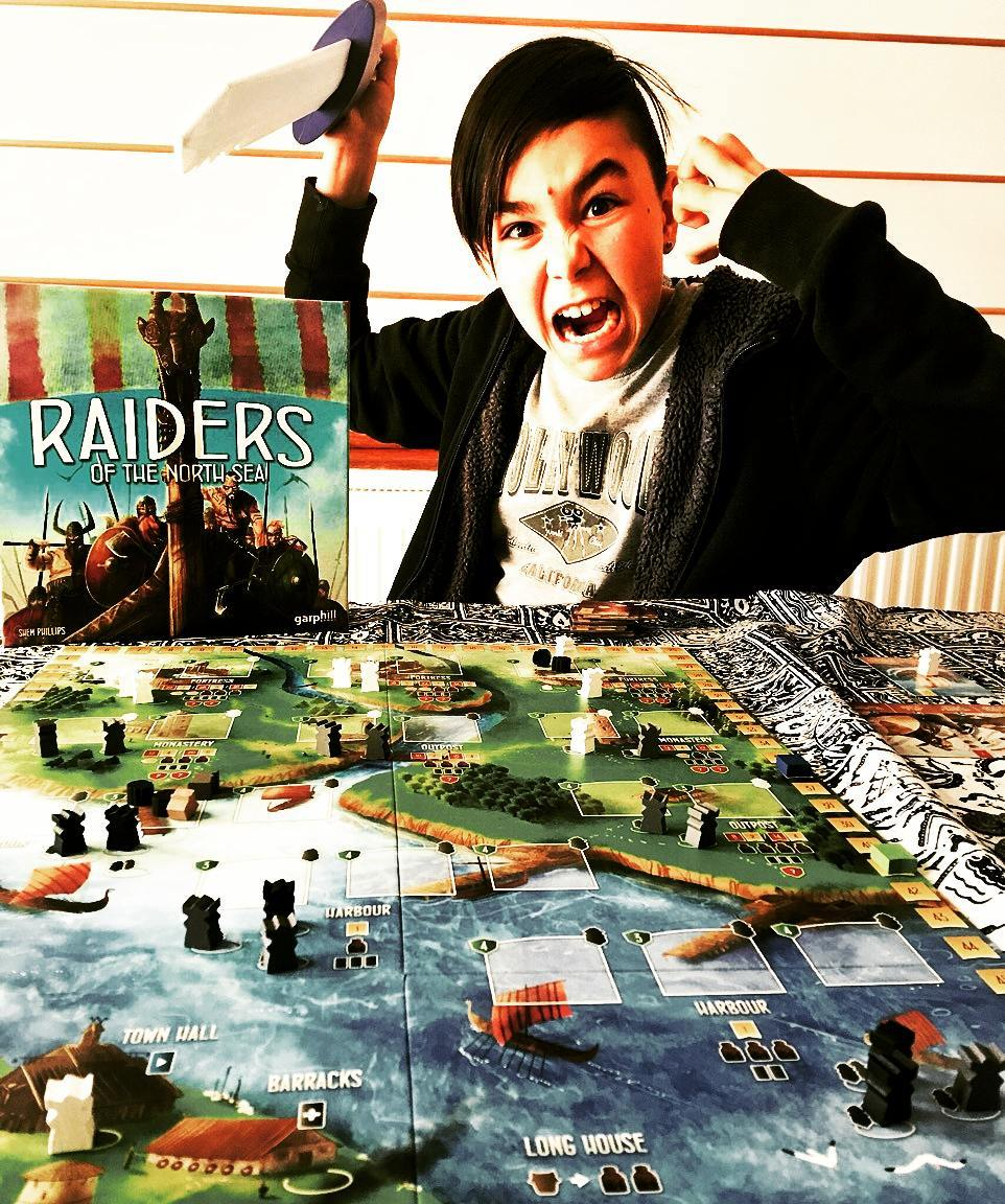 Trents daughter just schooled him in Raiders of the Northhellip
