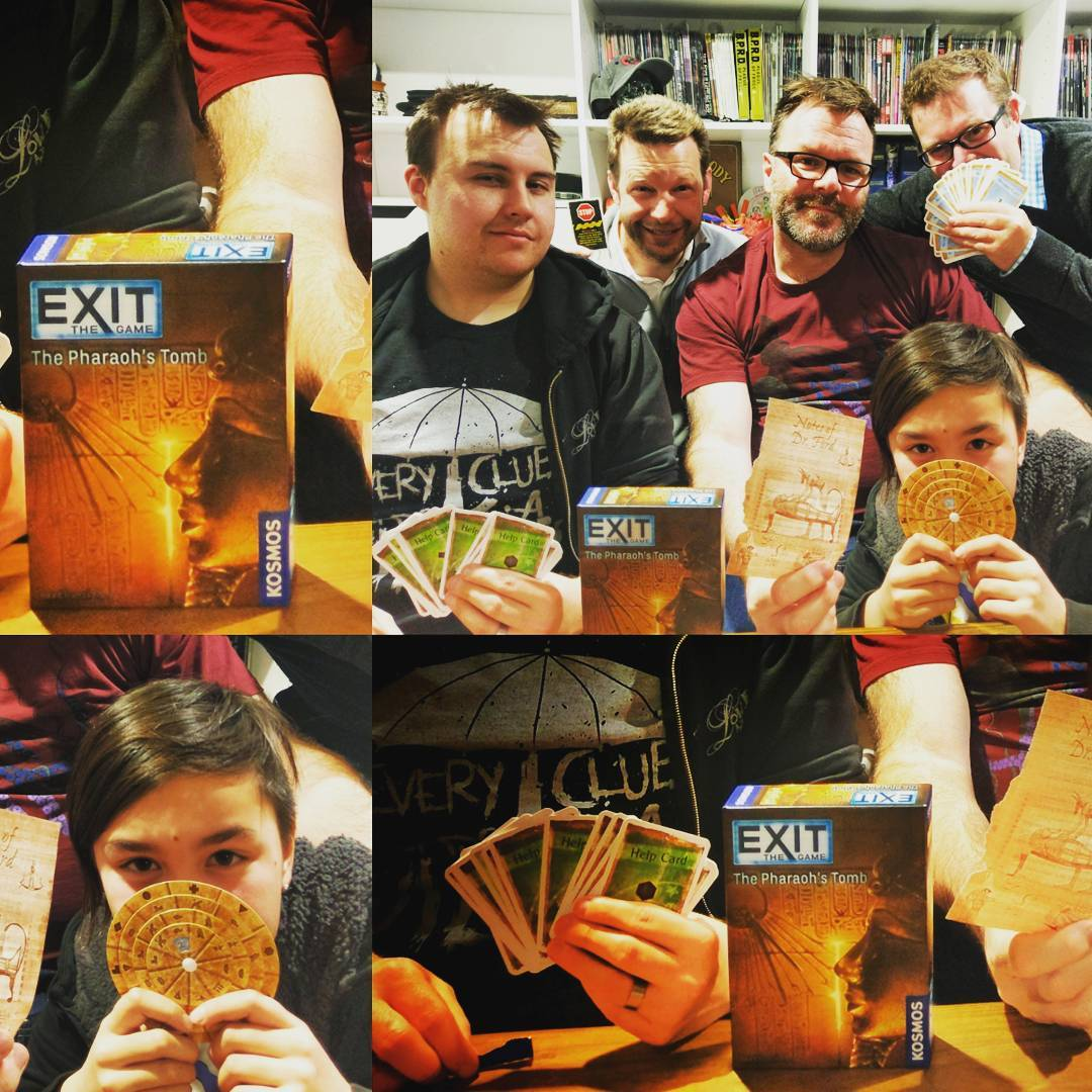 Exit The Game is a SdJ nominated series of escaperoominaboxhellip